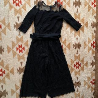 GIRL セットアップドレス 黒(ナイトドレス)