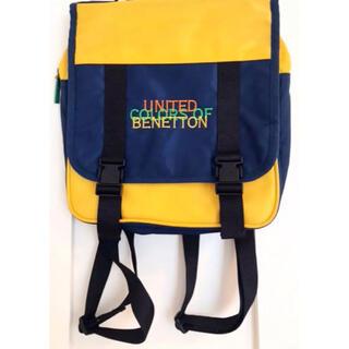 ベネトン(BENETTON)の【未使用】BENETTON ベネトンのリュック 子供用バッグ(ノベルティグッズ)