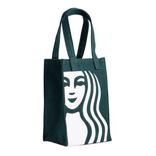 スターバックスコーヒー(Starbucks Coffee)のスターバックス 台湾 スタバ ドリンクホルダートートバッグ 緑 女神(トートバッグ)