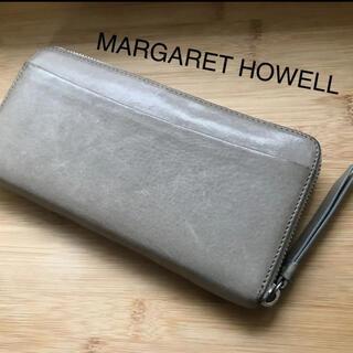 マーガレットハウエル(MARGARET HOWELL)のMARGARET HOWELL  レザー 長財布(財布)