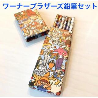 【未使用】ワーナーブラザーズ キャラクター 鉛筆6本セット バックスバニー(鉛筆)