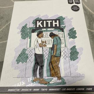 kith treats限定 ロンTシャツ ブルーM(Tシャツ/カットソー(七分/長袖))