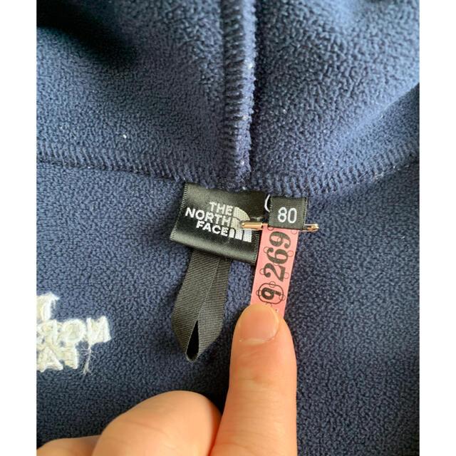 THE NORTH FACE(ザノースフェイス)のTHE NORTH FACE BABY フーディー キッズ/ベビー/マタニティのベビー服(~85cm)(ジャケット/コート)の商品写真