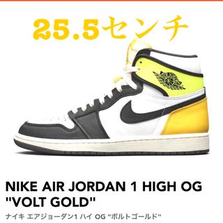 """ナイキ(NIKE)のNIKE AIR JORDAN 1 HIGH OG """"VOLT GOLD""""(スニーカー)"""
