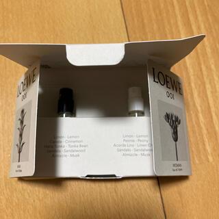 ロエベ(LOEWE)のロエベ香水サンプルセット未使用(その他)