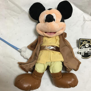 Disney - スターウォーズ ミッキー ぬいぐるみ ジェダイ ルーク スカイウォーカー WDW