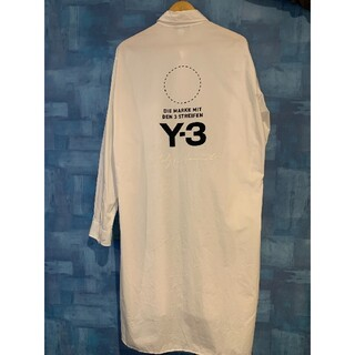 Y-3 - 2018AW Y-3 U Stacked Logo Long Shirt