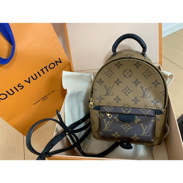 LOUIS VUITTON(ルイヴィトン)のルイヴィトン  バックパックミニ  レディースのバッグ(リュック/バックパック)の商品写真