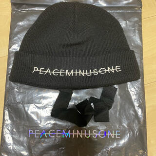 PEACEMINUSONE - peaceminusone KNIT CAP(BLACK)
