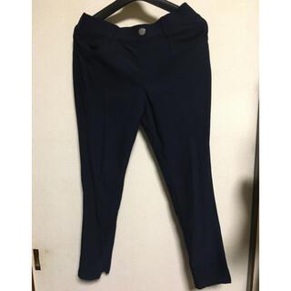 シマムラ(しまむら)のしまむら 紺色 スキニーパンツ Lサイズ 長ズボン(スキニーパンツ)