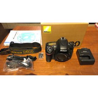 Nikon - ニコン D600 FXフォーマットデジタル一眼レフカメラ Nikon