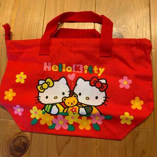 ハローキティ - キティちゃん お弁当袋 巾着袋