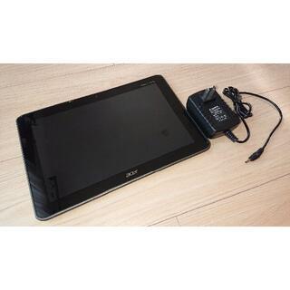 エイサー(Acer)の【ジャンク扱い】acer製 ICONIA TAB A200(タブレット)