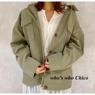 who's who Chico - 新品 who's who Chico ツイルフライトジャケット