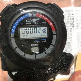 カシオ(CASIO)のカシオストップウォッチ新品(その他)