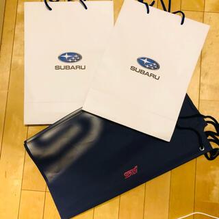 スバル - SUBARU 紙袋2枚&STI ショップバック レヴォーグ フォレスター スバル