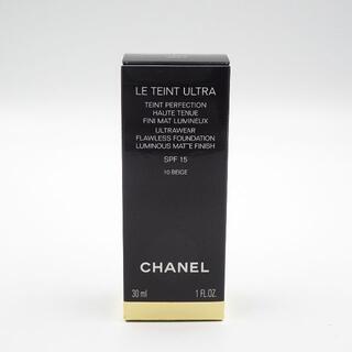 シャネル(CHANEL)のシャネル ル タン ウルトラ フリュイド 10 (ファンデーション)