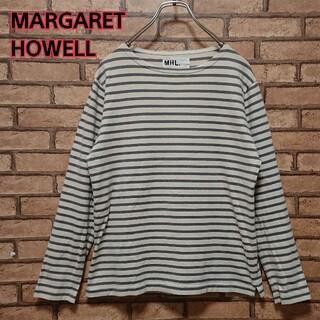 マーガレットハウエル(MARGARET HOWELL)のMARGARET HOWELL マーガレットハウエル 長袖 カットソー(Tシャツ/カットソー(七分/長袖))