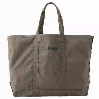 エルエルビーン(L.L.Bean)の新品 L.LBean グローサリートートバッグ カーキ(トートバッグ)
