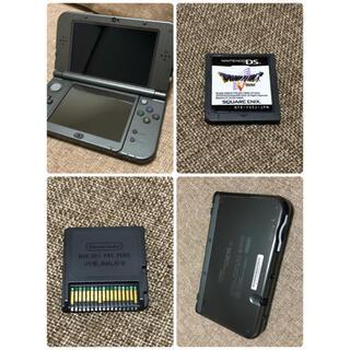 任天堂 - 3DSLLメタリックブラックセット美品!!
