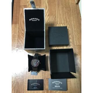 ロマゴデザイン(ROMAGO DESIGN)のROMAGO DESIGN 腕時計 新品未使用(腕時計(デジタル))