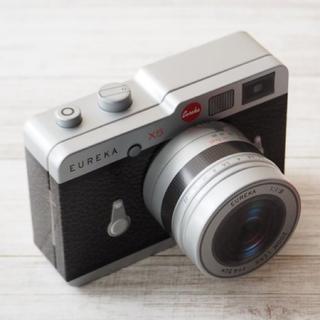 KALDI - カメラ缶 チョコレート 黒 望遠レンズタイプ