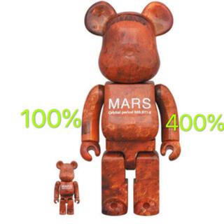メディコムトイ(MEDICOM TOY)のBE@RBRICK MARS 100%&400% ベアブリック マーズ(その他)