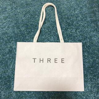 スリー(THREE)のTHREE ショップ袋 サブバッグ(ショップ袋)