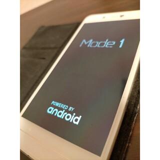 アンドロイド(ANDROID)のMode1  ホワイト(スマートフォン本体)