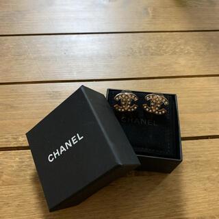 シャネル(CHANEL)のCHANELピアス正規品♡美品(ピアス)