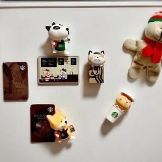 スターバックスコーヒー(Starbucks Coffee)の確認ページスターバックス中国バレンタイン 猫 ワンチャン マグネットセット(キーホルダー)