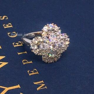 エミリアウィズ(EmiriaWiz)の✨最高品質✨輪の花✨ループリング✨SONA❤️ダイヤモンド(ネックレス)