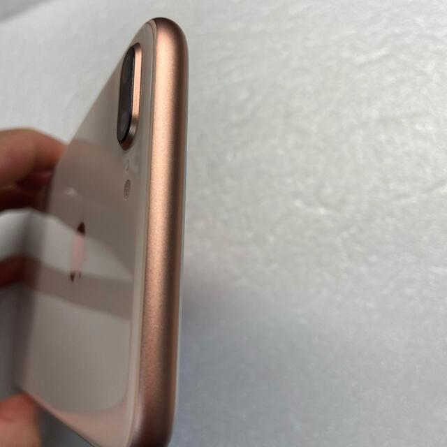iPhone(アイフォーン)のiPhone8 Plus 256Gb Gold Simフリーバッテリー100% スマホ/家電/カメラのスマートフォン/携帯電話(スマートフォン本体)の商品写真