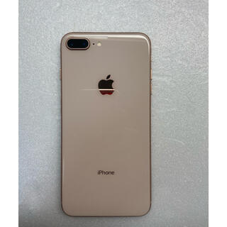 iPhone - iPhone8 Plus 256Gb Gold Simフリーバッテリー100%