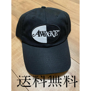 AWAKE - Awake NYC Split Logo Patch Hat black
