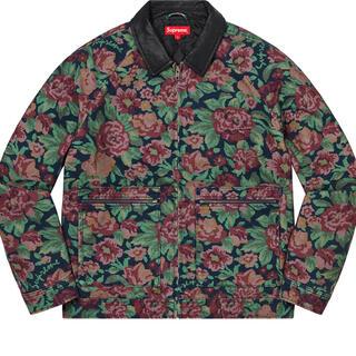 Supreme - Leather Collar Work Jacket sサイズ