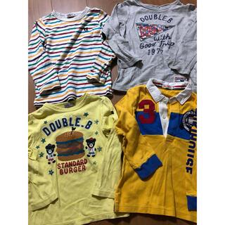 ミキハウス(mikihouse)のミキハウス ダブルビー  4枚セット(Tシャツ/カットソー)