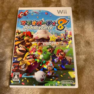 ニンテンドウ(任天堂)のマリオパーティ8 wii(家庭用ゲームソフト)