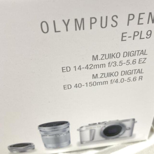 OLYMPUS(オリンパス)のオリンパスペンOLYMPUS PEN E−PL9 BROWN ダブルズームキット スマホ/家電/カメラのカメラ(ミラーレス一眼)の商品写真
