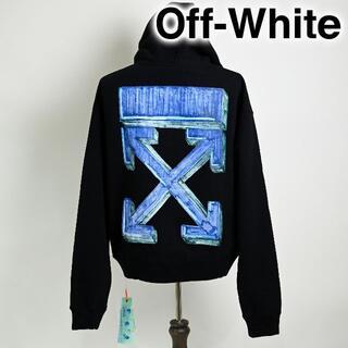 オフホワイト(OFF-WHITE)の新品 Off-White Marker Pen Arrows hoodie 黒(パーカー)