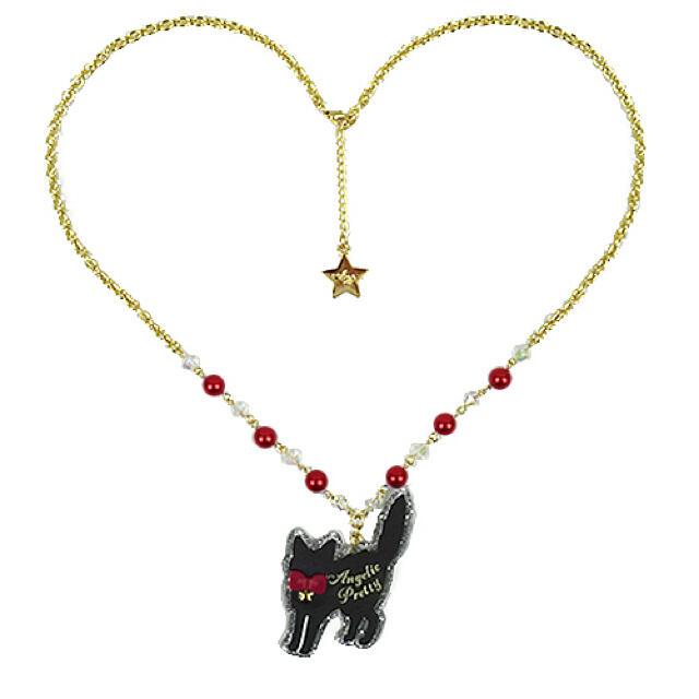 Angelic Pretty(アンジェリックプリティー)のangelic pretty little cat ネックレス レディースのアクセサリー(ネックレス)の商品写真