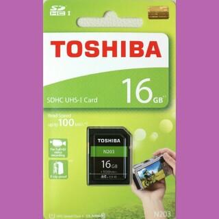 トウシバ(東芝)の東芝 SDカード 16GB(その他)