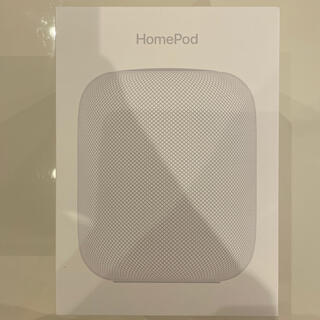 Apple - *新品Apple HomePod ホワイト  MQHV2J*