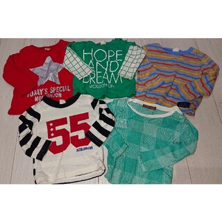 ムージョンジョン(mou jon jon)のまとめ売り ムージョンジョン 90 ロンT (Tシャツ/カットソー)