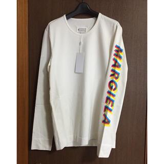 Maison Martin Margiela - 46新品 メゾン マルジェラ ロゴ スウェット ロング Tシャツ 長袖 メンズ