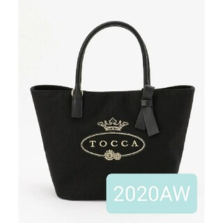 TOCCA - 2020AW新品♡TOCCA トッカ CANVAS TOTE トートバッグ  黒