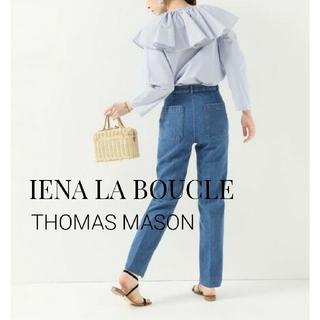 IENA - IENA LA BOUCLE THOMAS MASON フリルカラーブラウス
