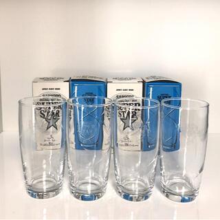 トウヨウササキガラス(東洋佐々木ガラス)のサッポロ スーパースター グラス 4個セット(グラス/カップ)