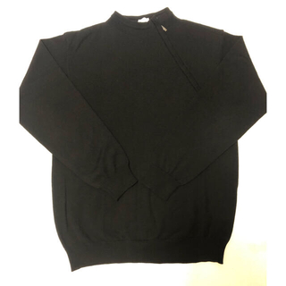 アルマーニ コレツィオーニ(ARMANI COLLEZIONI)のアルマーニ・コレツォーニ ニット セーター 美品 ブラック(ニット/セーター)