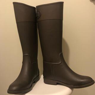 マーガレットハウエル(MARGARET HOWELL)のレインブーツ マーガレットハウエルアイデア ダークブラウン/Lサイズ(レインブーツ/長靴)
